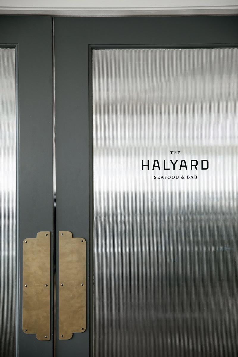 Halyard Restaurant Doors