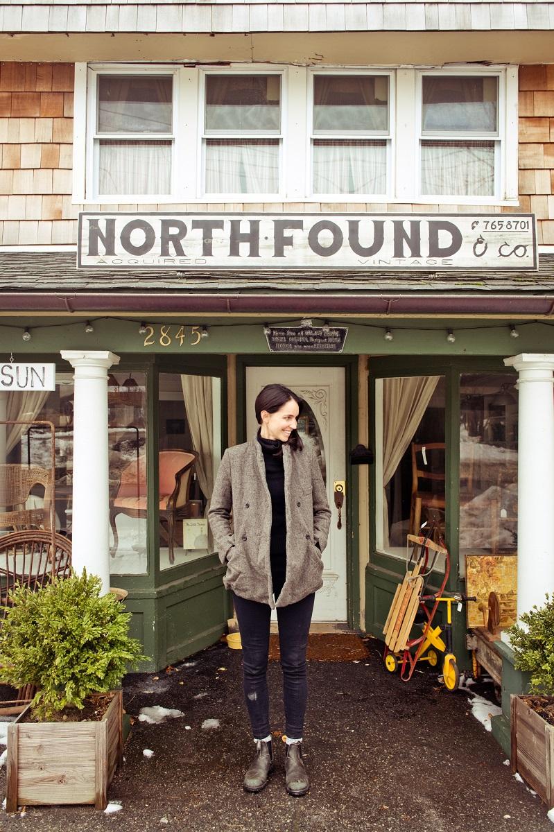 Hadley Wiggins at North Found Antique Store