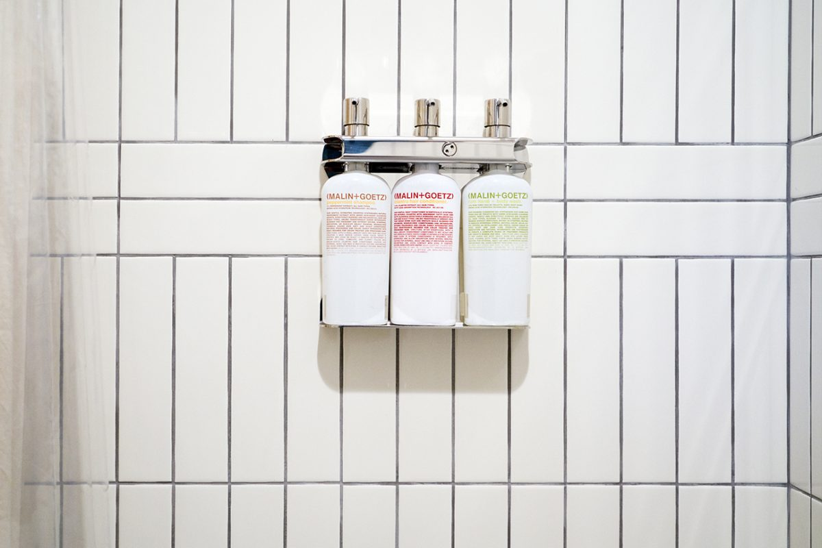 Malin and Goetz bath products