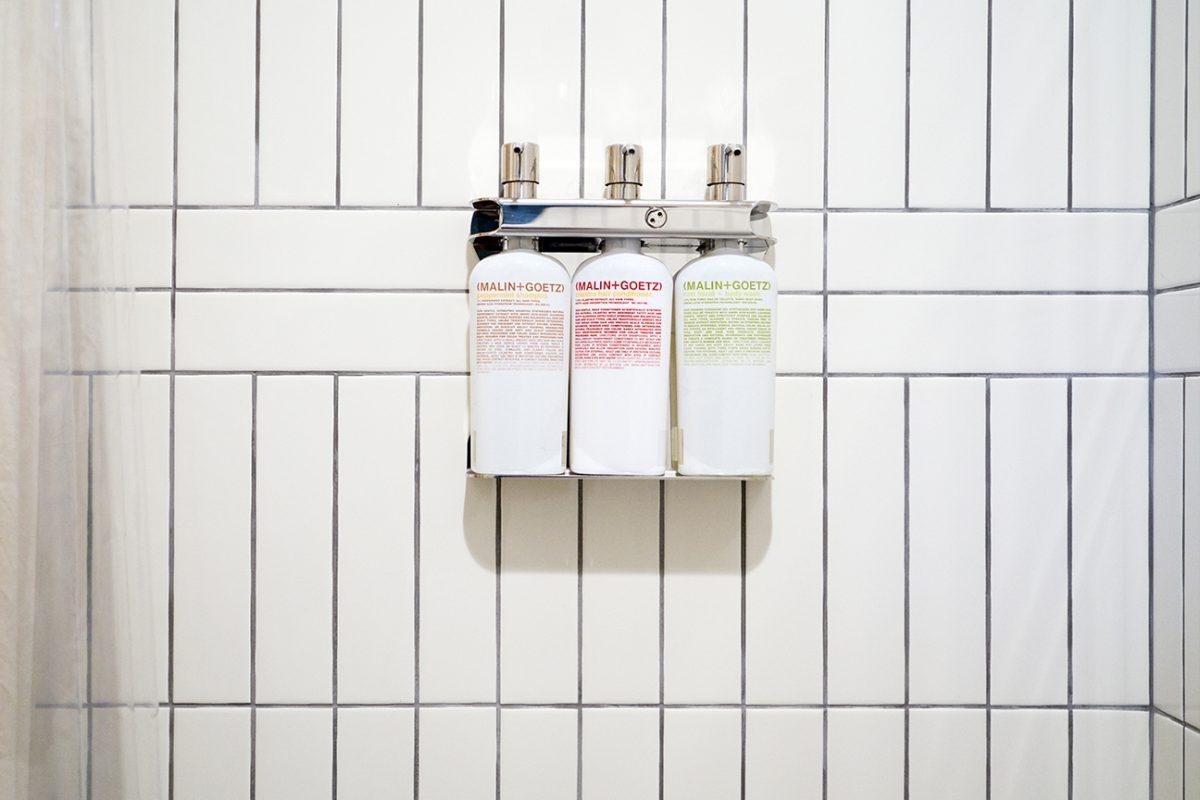 Malin and Goetz bath products