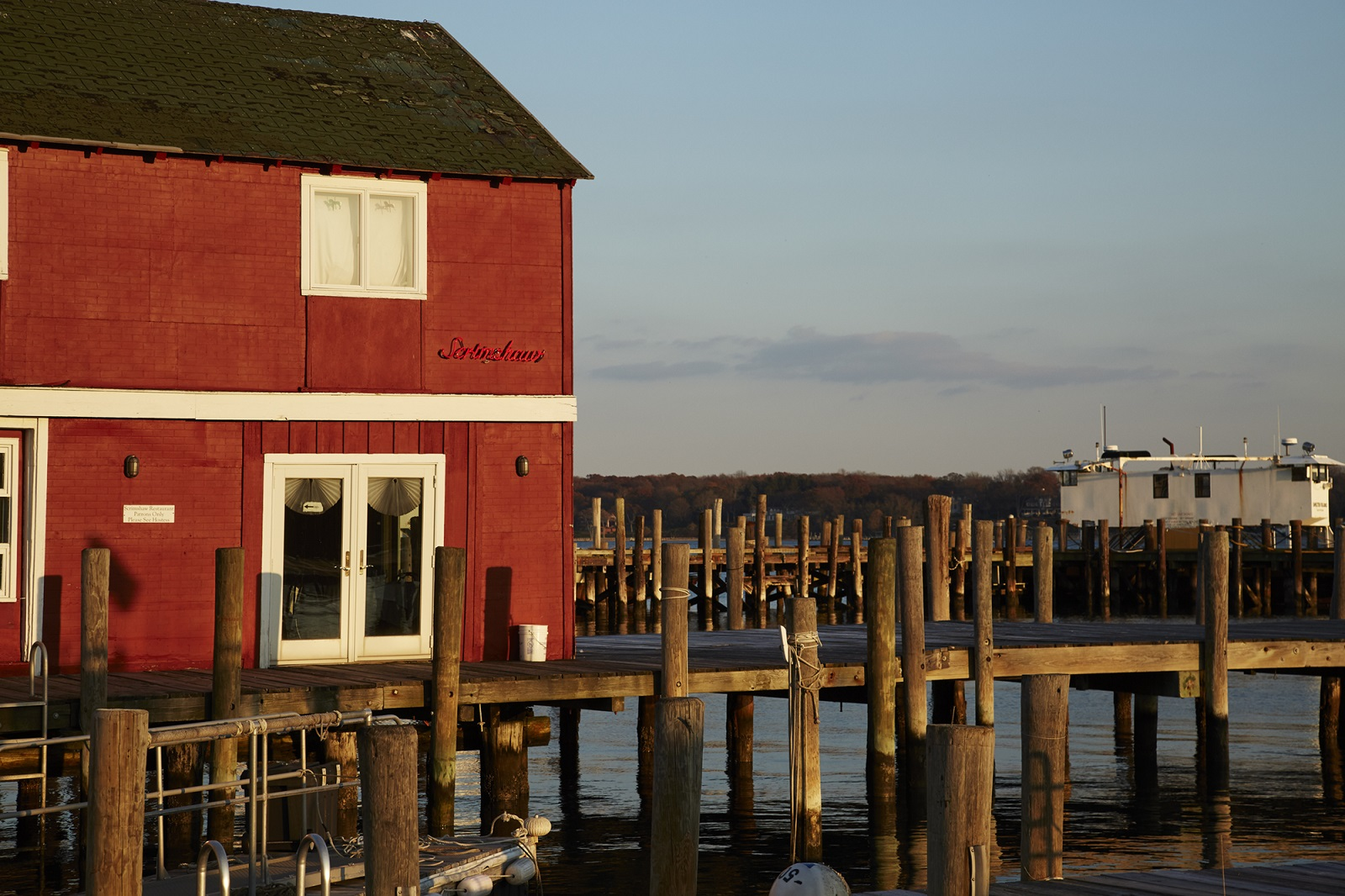 Barba Bianca Restaurant Greenport Harbor