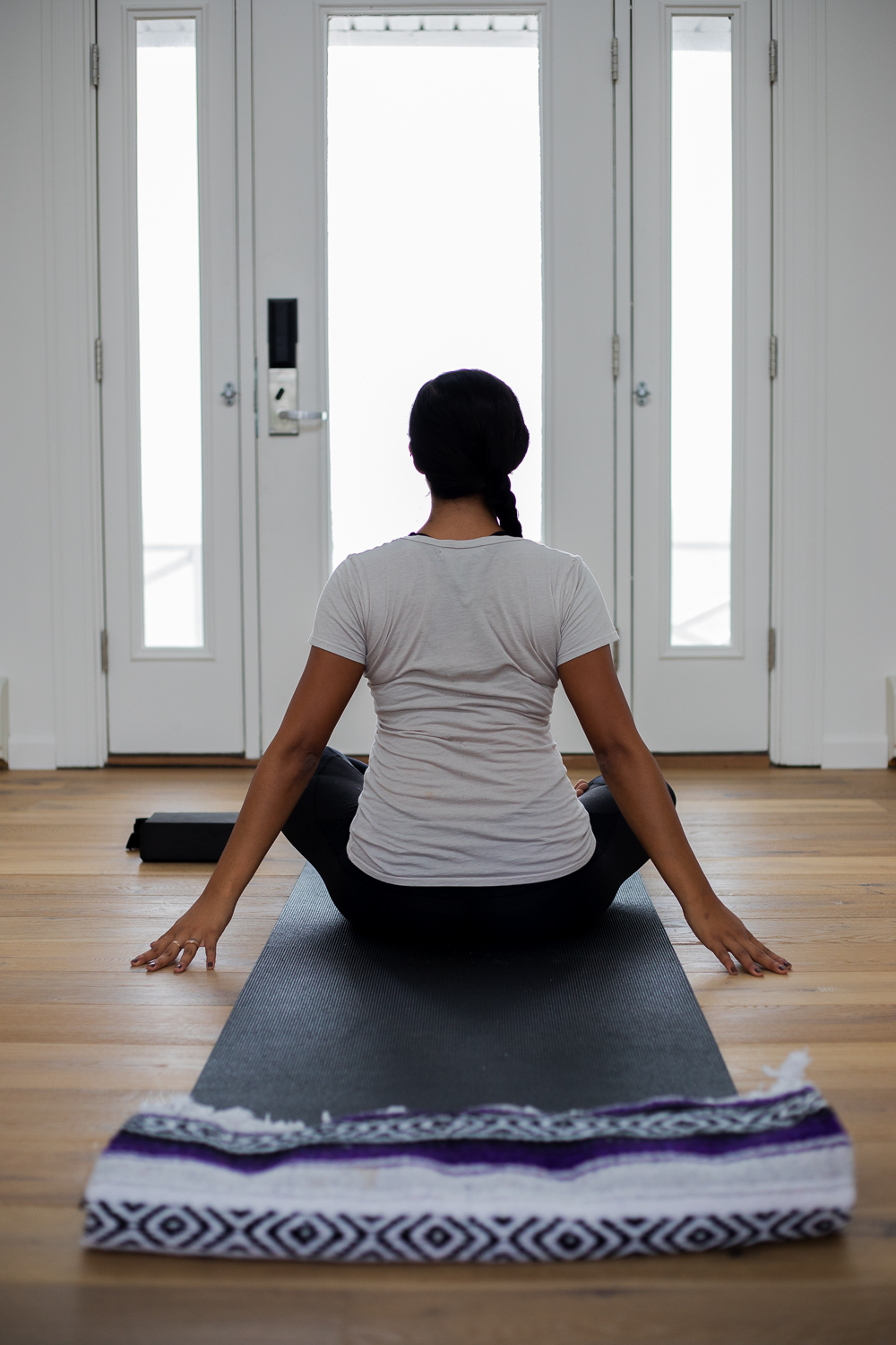 Yoga in Yoga and Meditation Room