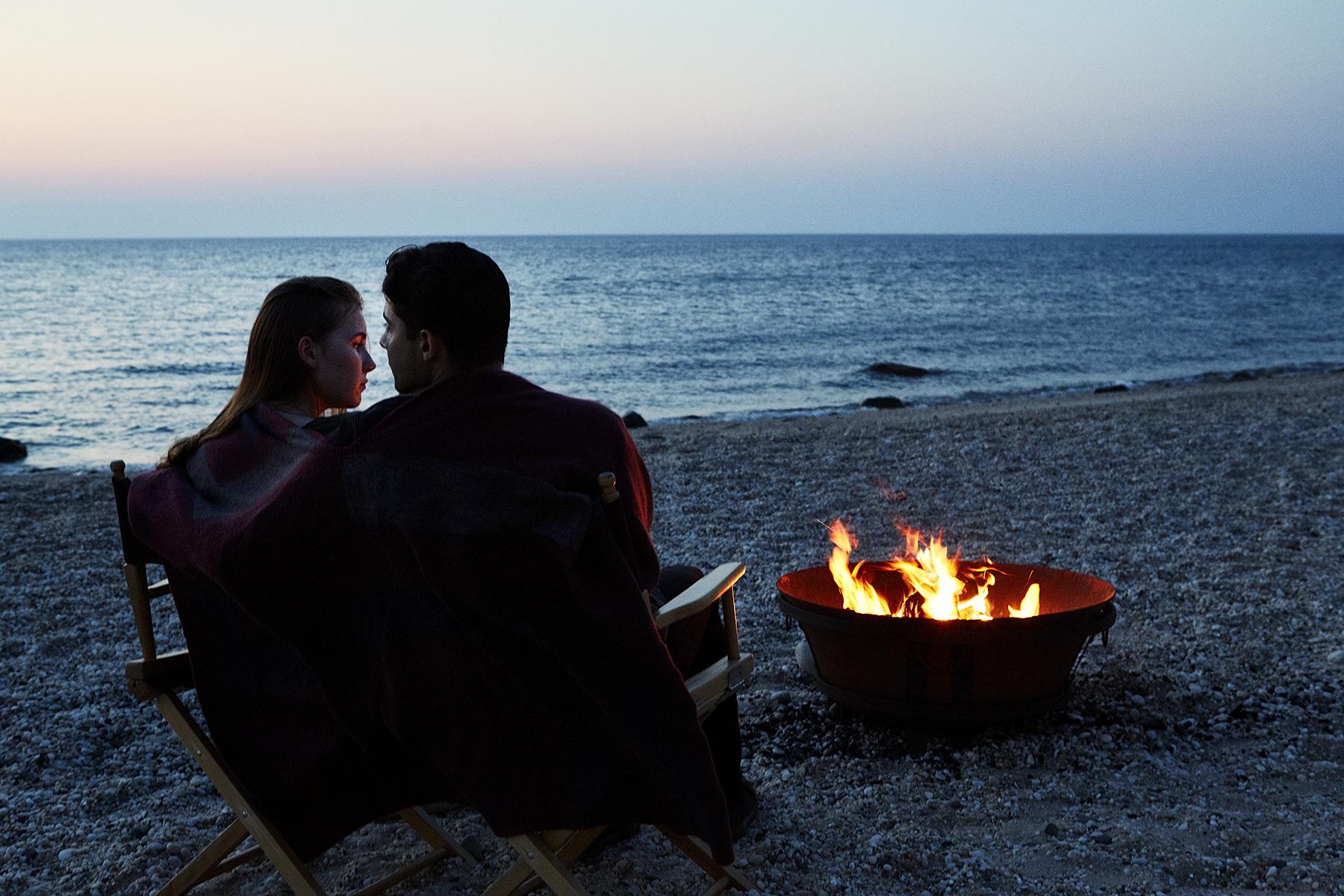 Bonfire at Greenport Long Island Hotel