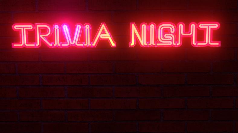 Trivia Night Sign