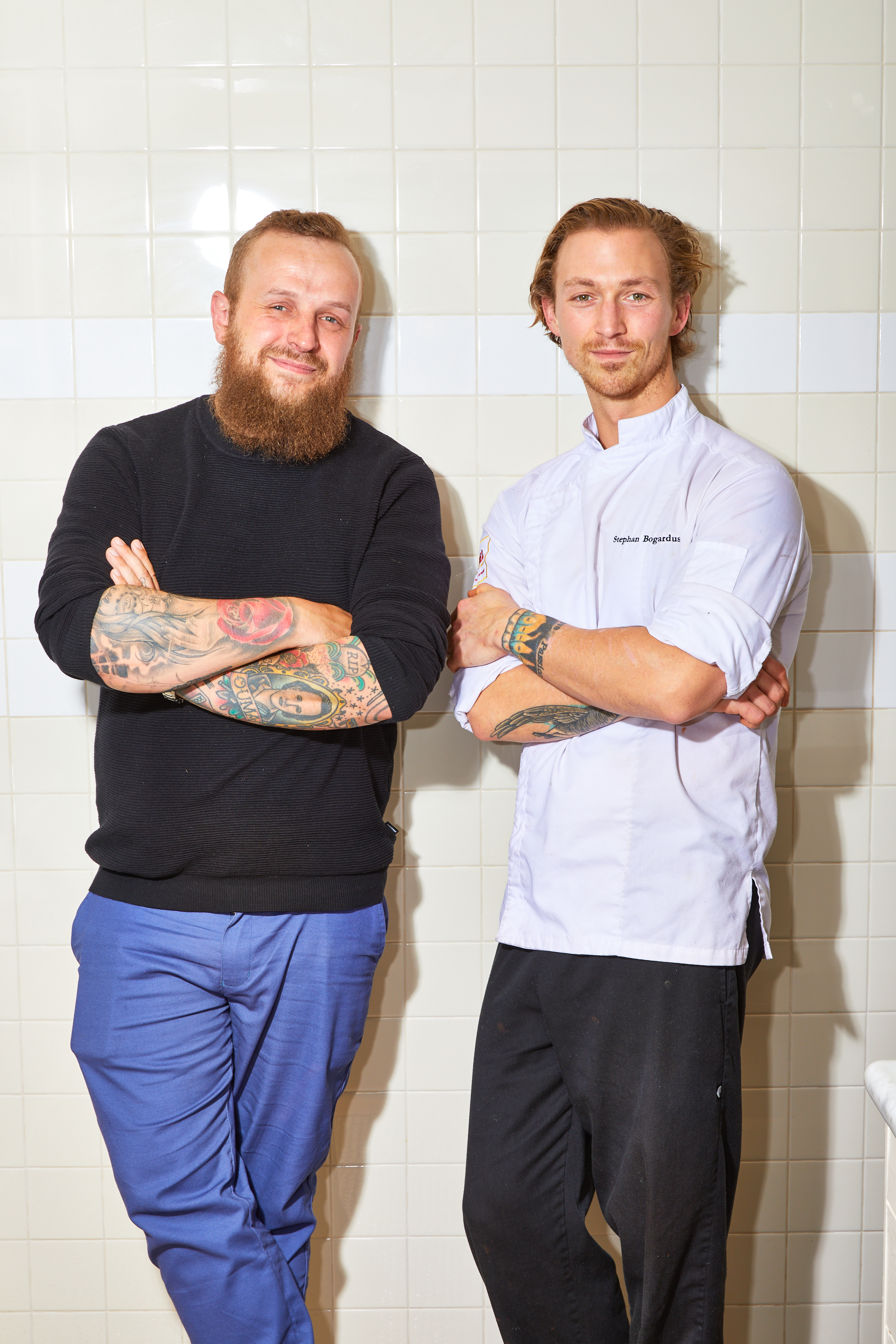 GM Derrick Erwee and Chef Stephan Bogardus
