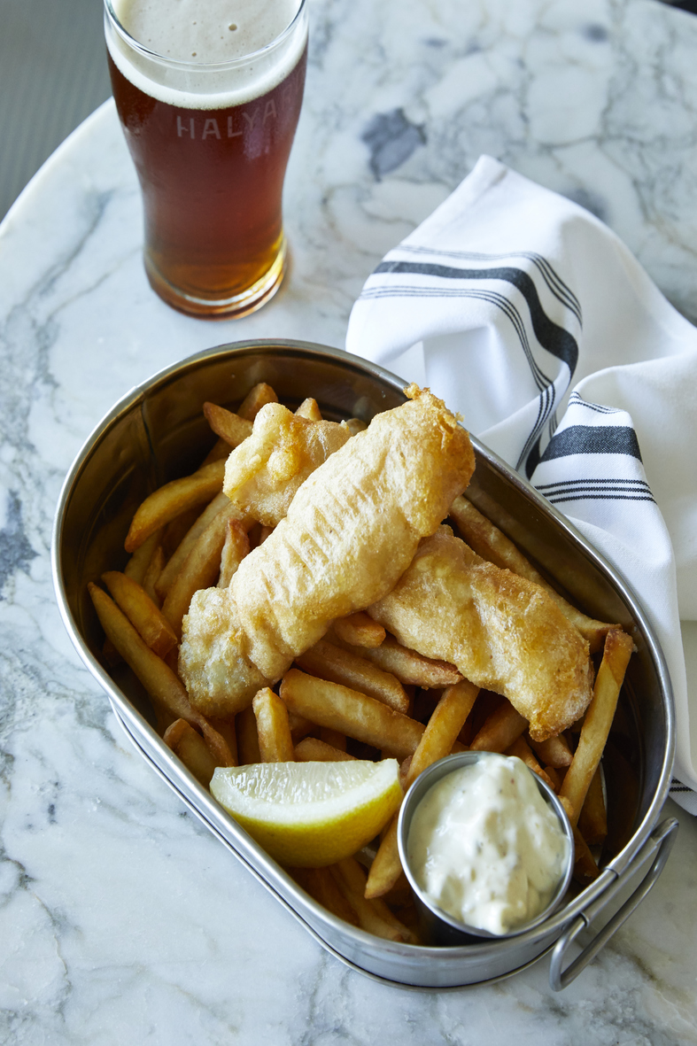 Gluten Free Beer Battered Fish and Chips