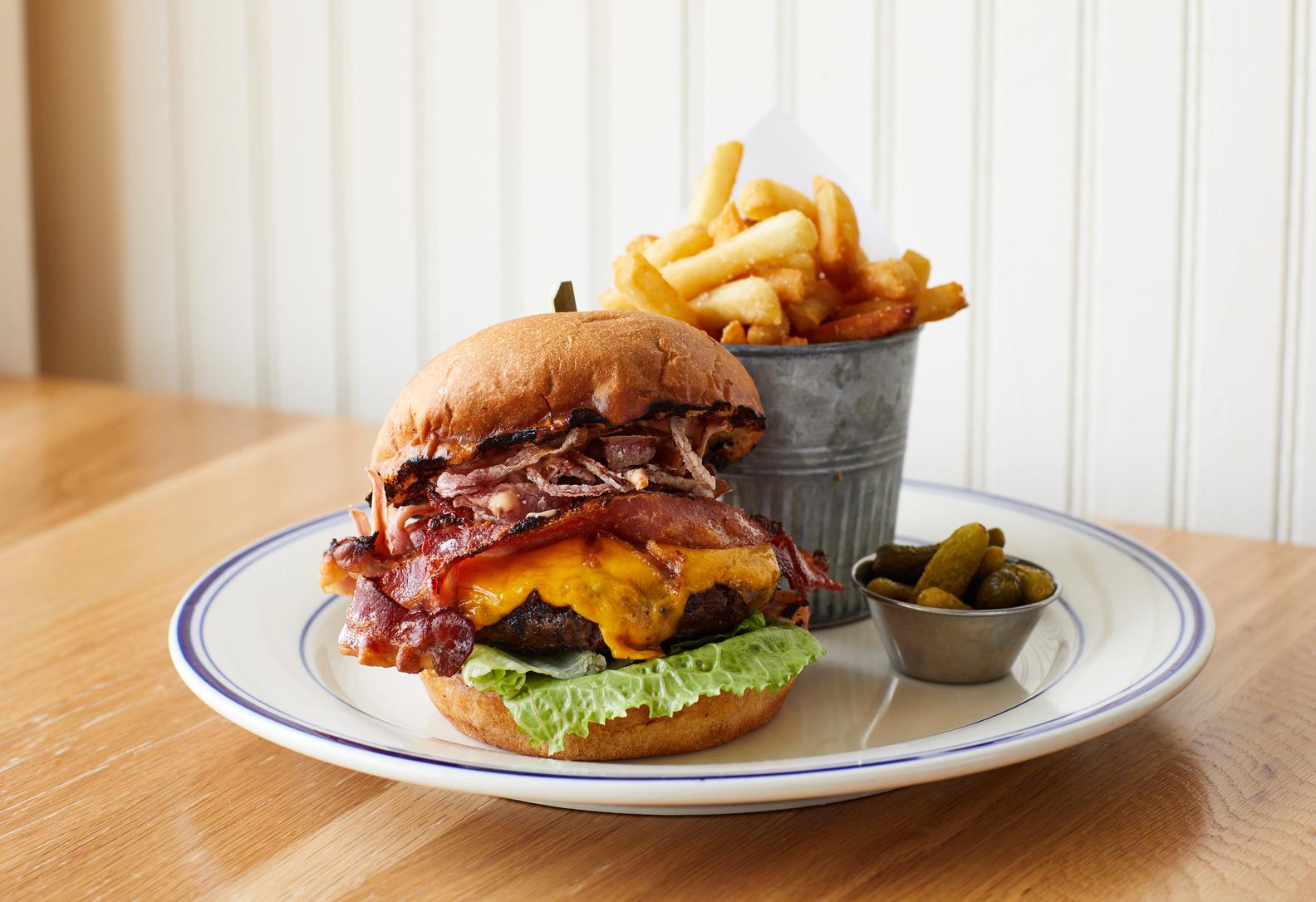 Grassfed Halyard Burger