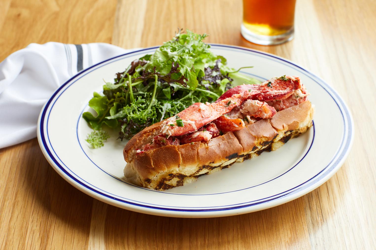 Halyard North Fork Lobster Roll