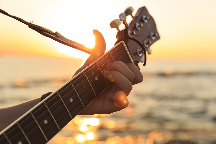 Music on Beach